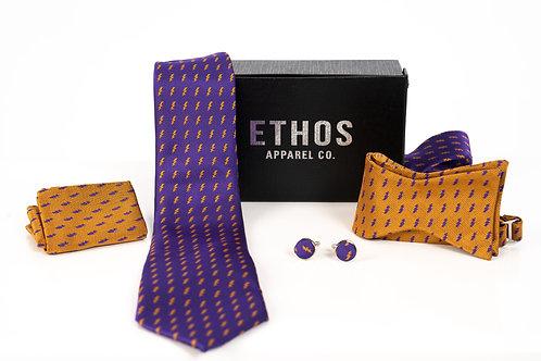 Purple Tie Set - Omega Psi Phi