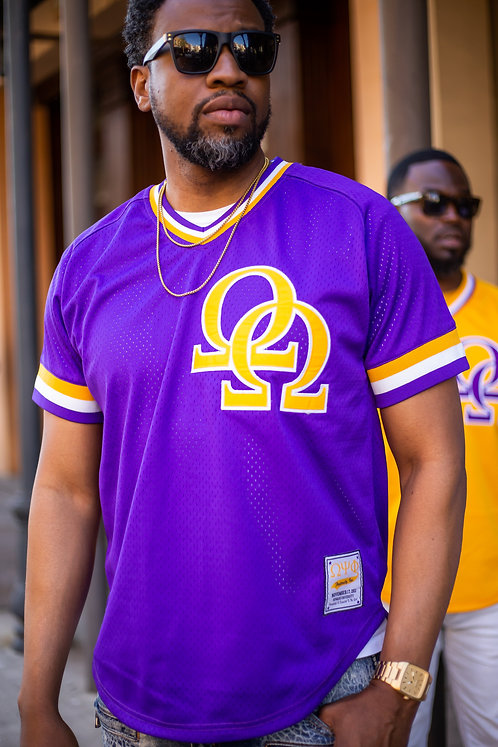 Vaughn Double Jersey - Purple - Omega Psi Phi