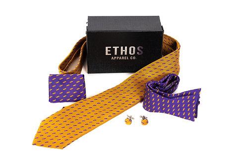 Gold Tie Set - Omega Psi Phi