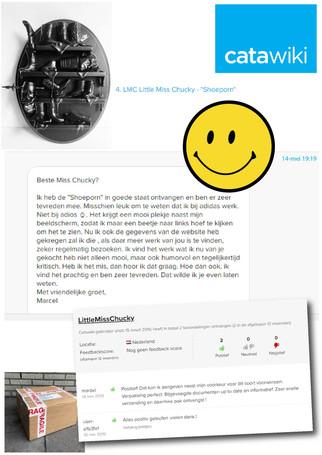 Positive feedback :)