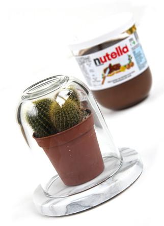 DIY: Upcycled Nutella Jar