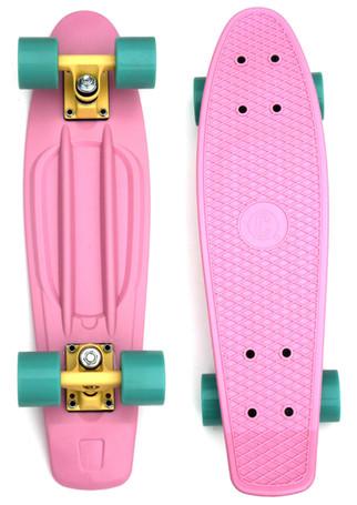My new PINK skateboard!