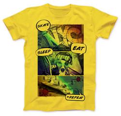 YWA-T-Shirt-Mockup-Yellow-Unisex