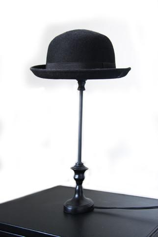 Diy Bowler Hat-Lamp