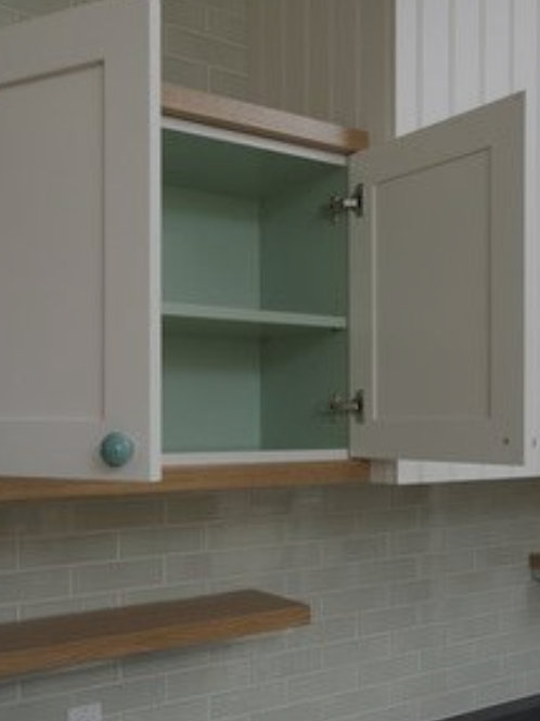 Clean Inside of Cabinets