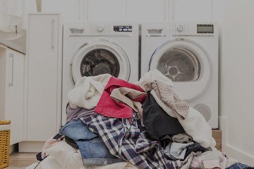 Wash & Fold Service $25 per load