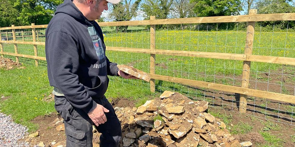 Dry Stone Walling Saturdays 5 Weeks throughout July