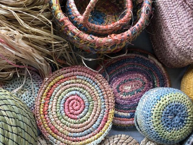 Raffia Basket Making Bundle