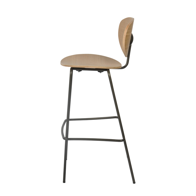 Ovni Barstool Side View