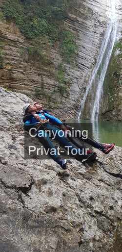 Canyoning Privat-Tour
