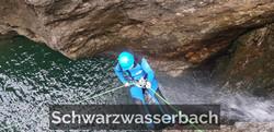 Canyoning-Tour Schwarzwasserbach