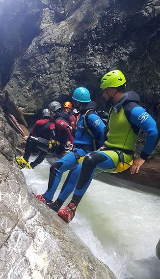 Canyoning Tagestour