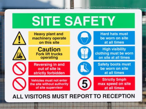 Site Safety 2 Sign