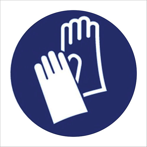 Glove Compulsory Sign