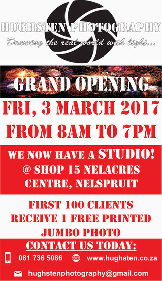 Grand Opening of the Studio