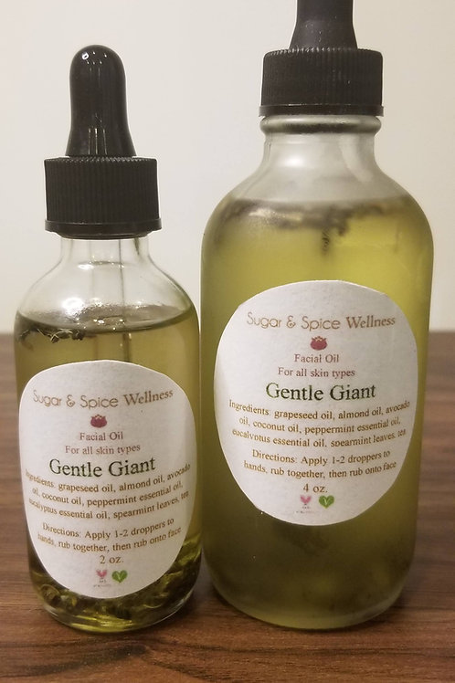 Gentle Giant Facial Oil