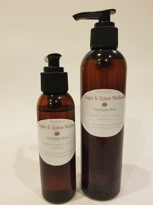 Eucalyptus Wind Body & Massage Oil