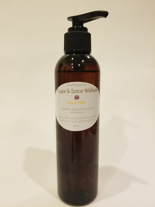 Rise & Shine Body & Massage Oil