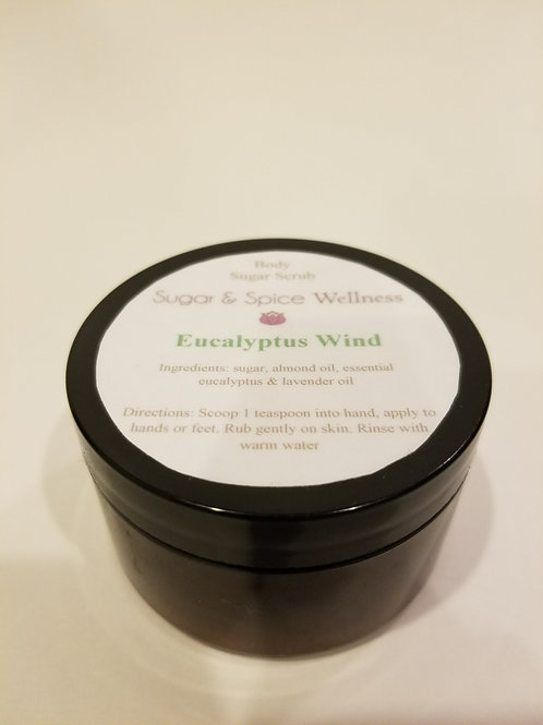 Eucalyptus Wind Body Sugar Scrub