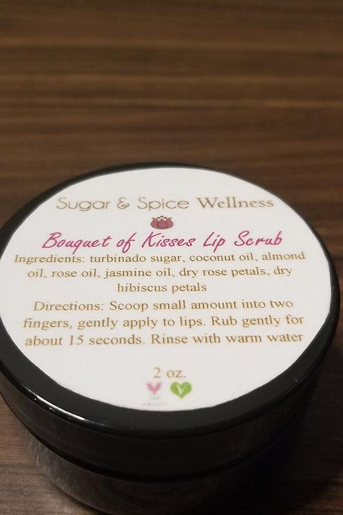 Bouquet of Kisses Lip Scrub