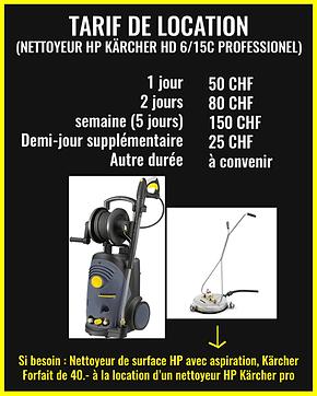 nettoyeur HP karcher 6-15C professionnel