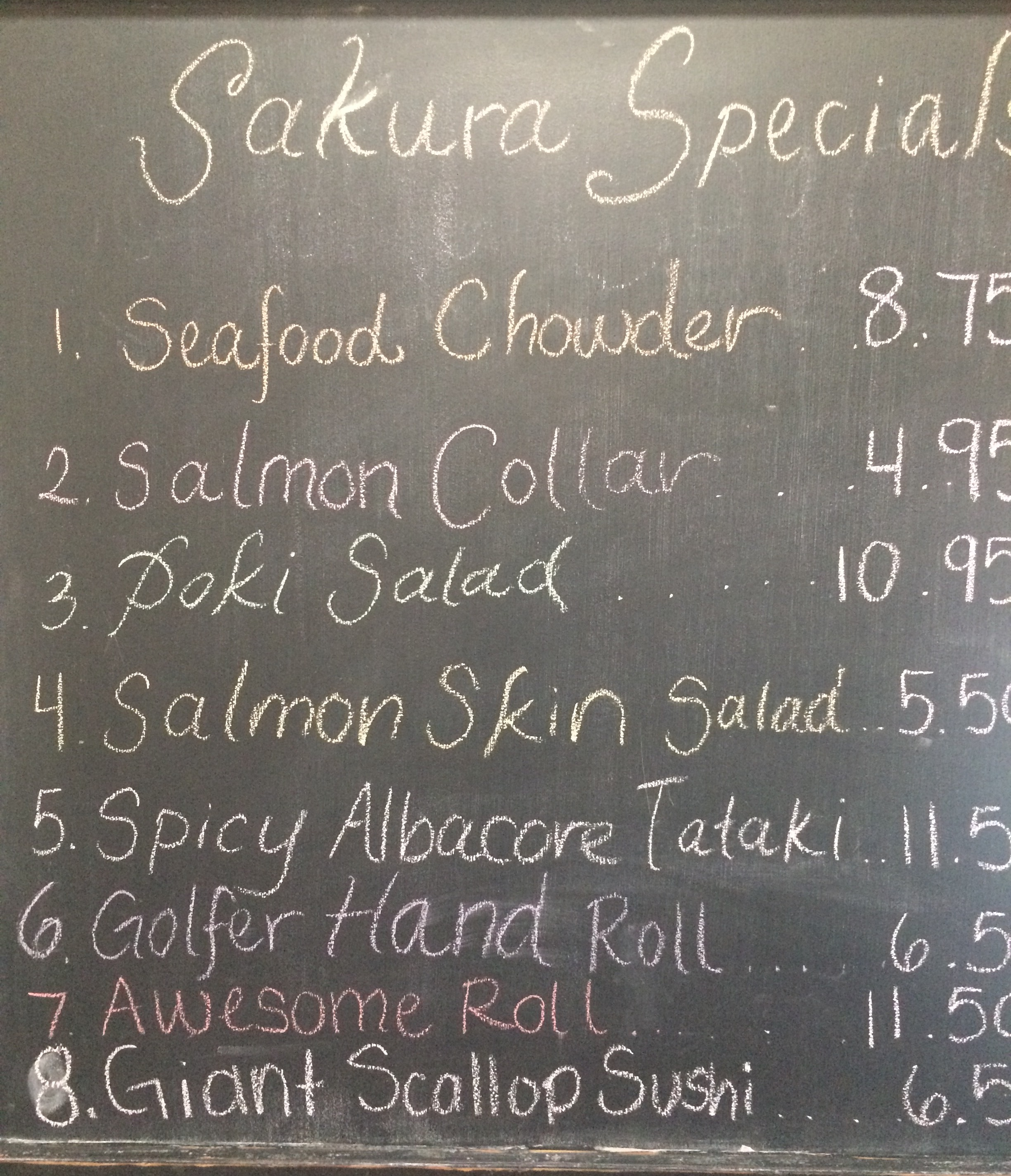 Daily Chef Specials