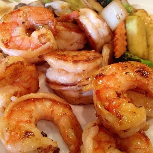 tepan shrimps