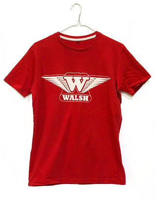 Walsh Printed T-Shirt - Red