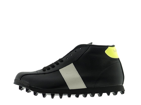 Black Leather Walsh Boots
