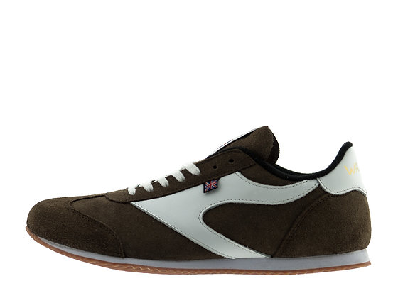 norman walsh brown suede shoes