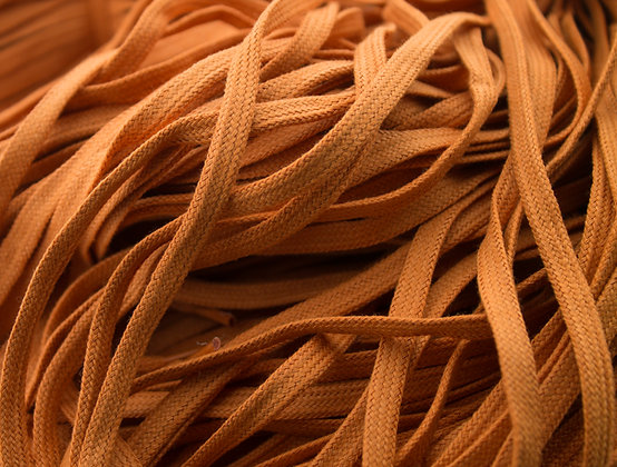 burnt orange shoe laces
