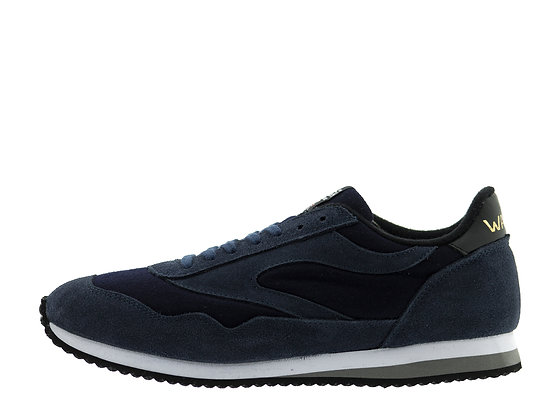 navy cashmere trainers