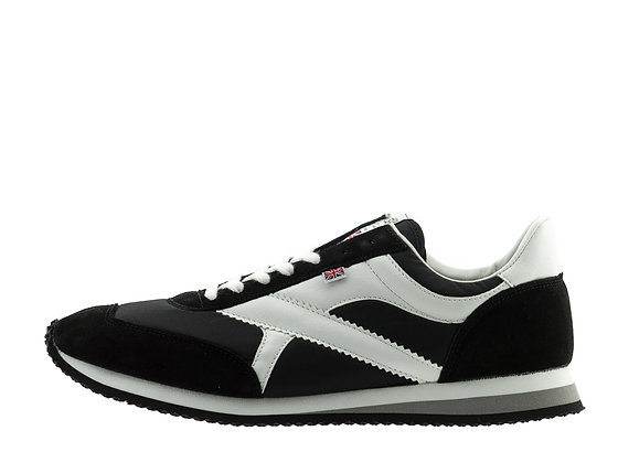 black white norman walsh trainers