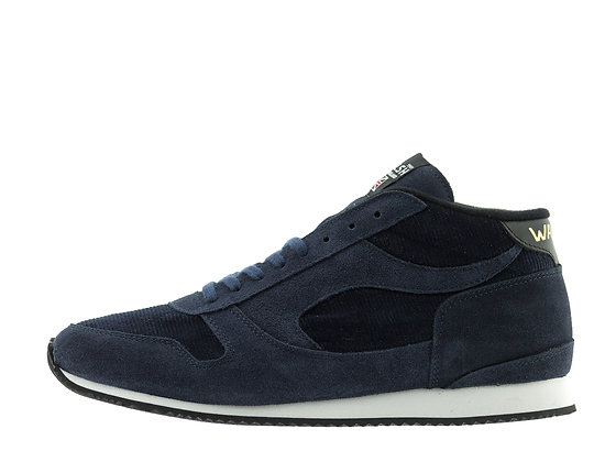 navy norman walsh boots