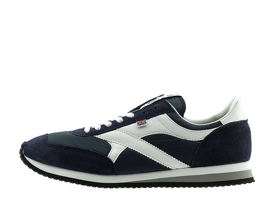 navy white norman walsh trainers