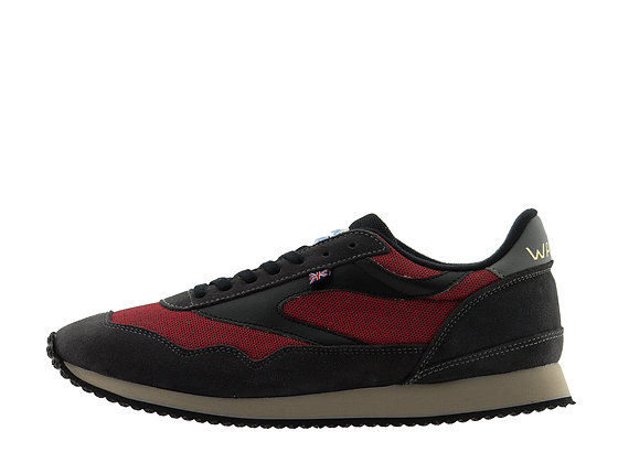 red mesh norman walsh trainers