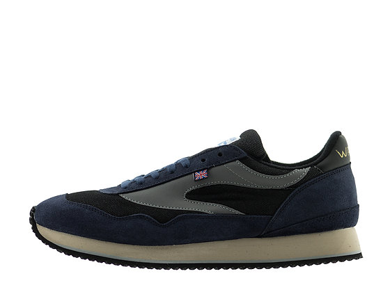 navy norman walsh trainers