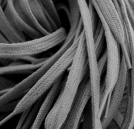 grey cotton laces