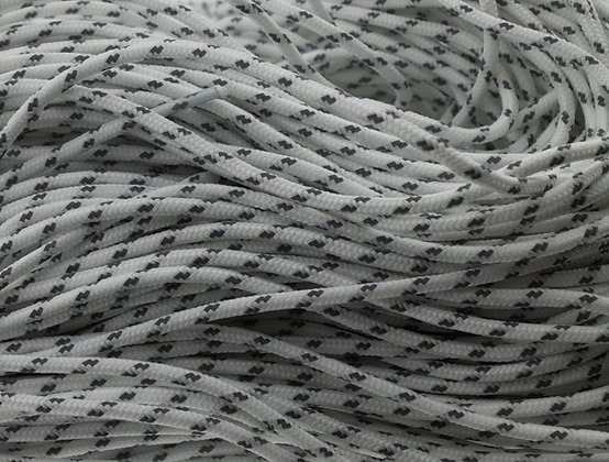 Hiker Lace - White Grey