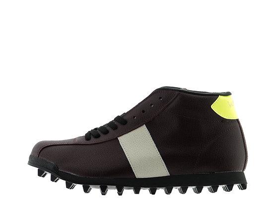 Burgundy Leather footwear
