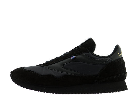 All black norman walsh trainers