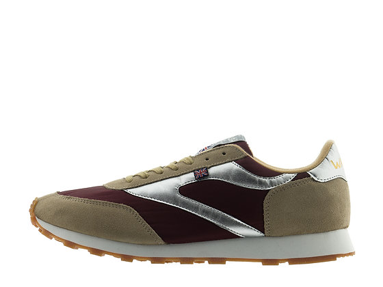 burgundy tan walsh trainers