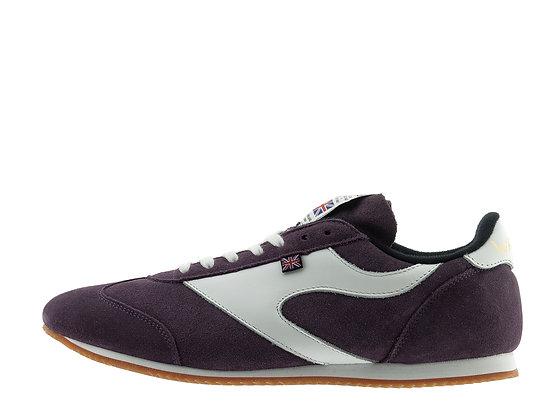 plum suede shoes