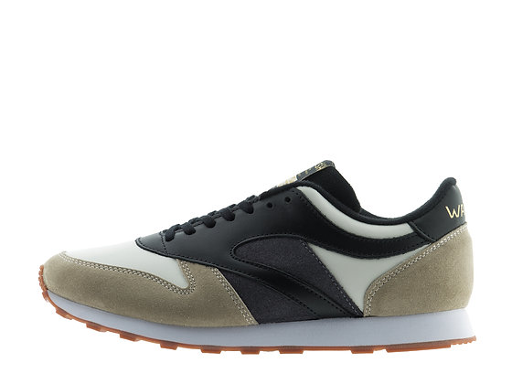 leather suede smart trainer