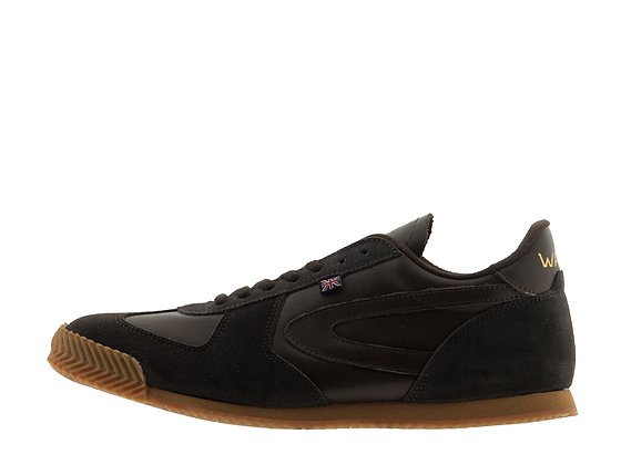 brown leather walsh shoes