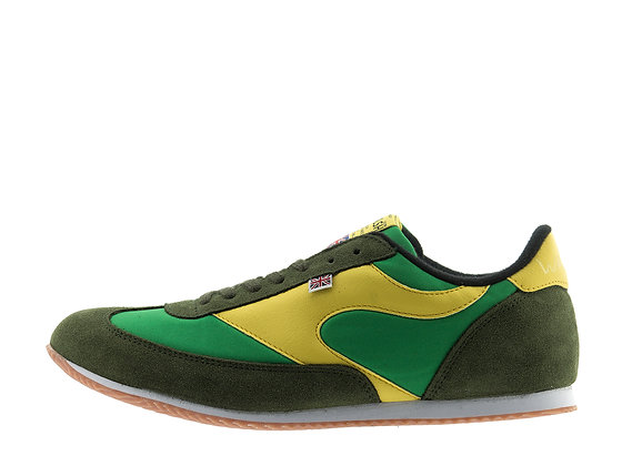 green yellow trainers