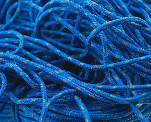 walsh blue footwear laces