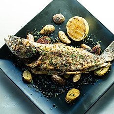 Grilled Deboned Whole Fish