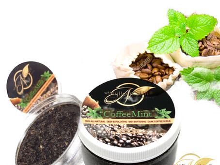 FYI, only 3 more CoffeeMint body scrubs are left in stock!!