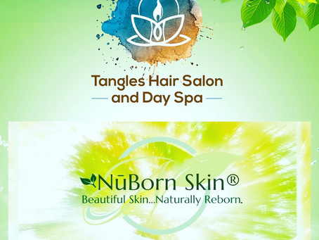 NūBorn Skin & Tangles Day Spa Partnership